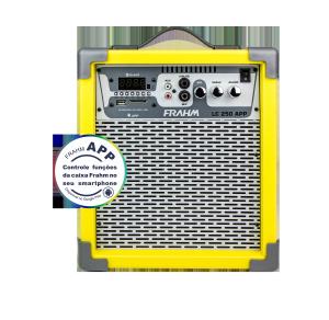 Caixa Amplificada Multiuso Frahm - LC 250 APP Amarela