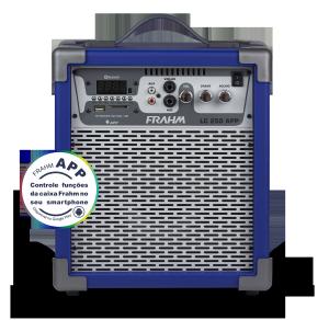 Caixa Amplificada Multiuso Frahm - LC 250 APP Azul