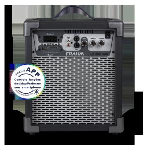 Caixa Amplificada Multiuso Frahm - LC 250 APP Preta