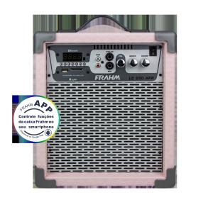 Caixa Amplificada Multiuso Frahm - LC 250 APP Rosa