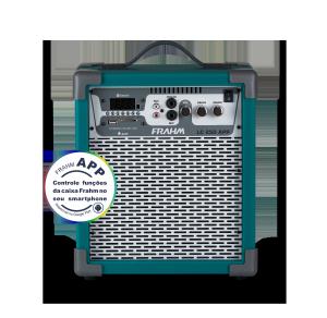 Caixa Amplificada Multiuso Frahm - LC 250 APP Verde