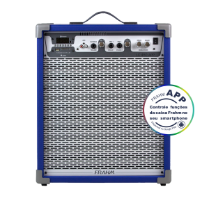 Caixa Amplificada Multiuso Frahm - LC 450 APP Azul