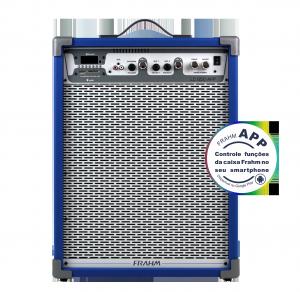 Caixa Amplificada Multiuso Frahm - LC 650 APP Azul