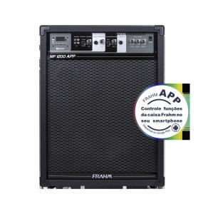 Caixa Amplificada Multiuso Frahm - MF 1200 APP