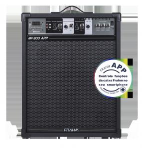Caixa Amplificada Multiuso Frahm - MF 800 APP