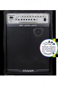 Caixa Amplificada Multiuso Frahm -  MP 2000 APP