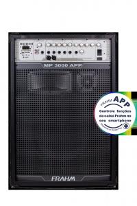 Caixa Amplificada Multiuso Frahm - MP 3000 APP