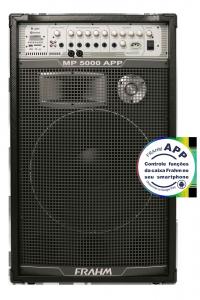 Caixa Amplificada Multiuso Frahm - MP 5000 APP