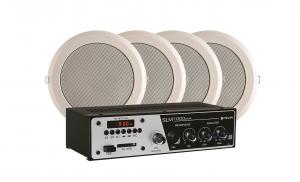 Kit Sonorização Ar Frahm - Slim 1000 Plus + 4 Arandelas 6