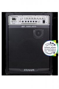 Caixa Amplificada Multiuso Frahm- MP 1000 APP