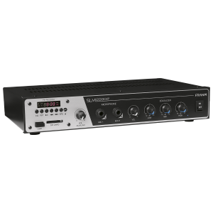 Amplificador para som ambiente Frahm - Slim 2000 USB/FM
