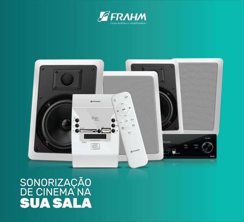 #DicaFrahm: Sonorização de cinema na sua sala