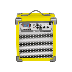 Caixa Amplificada Frahm - LC200 Bluetooth Amarela