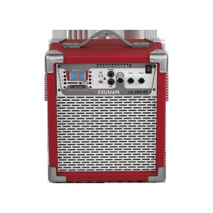 Caixa Amplificada Frahm - LC200 Bluetooth Vermelha