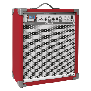 Caixa Amplificada Frahm - LC400 Bluetooth Vermelha