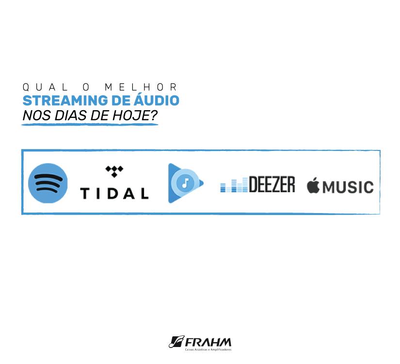#DicaFrahm: Qual o melhor streaming de áudio nos dias de hoje?