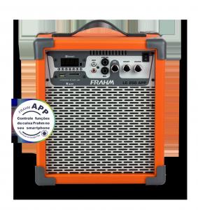 Caixa Amplificada Multiuso Frahm - LC 250 APP Laranja