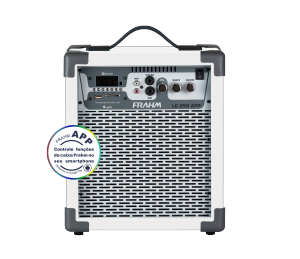 Caixa Amplificada Multiuso Frahm - LC 250 APP BRANCA