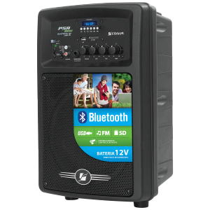 Caixa Amplificada Frahm - PSA 800 Bluetooth USB/FM