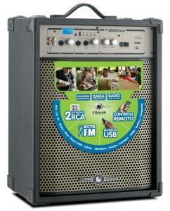 Caixa Amplificada Frahm - SS 250 USB FM