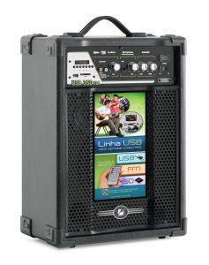 Caixa Amplificada Frahm- USB 350 FM
