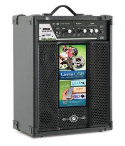 Caixa Amplificada Frahm - USB 460 FM