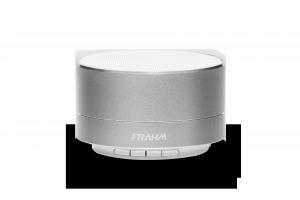 Caixa de Som Portátil - A10 Alumínio Prata