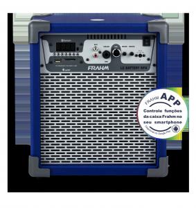 Caixa Amplificada Multiuso Frahm – LC Battery NFA Azul