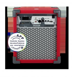 Caixa Amplificada Multiuso Frahm – LC Battery NFA Vermelha