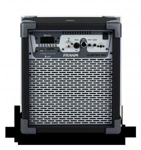 Caixa Amplificada Multiuso Frahm – LC Battery NFA Preta