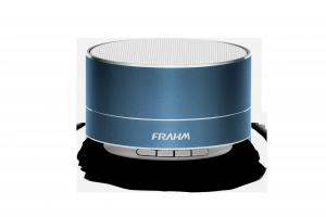 Caixa de Som Portátil Frahm – A10 Alumínio Azul