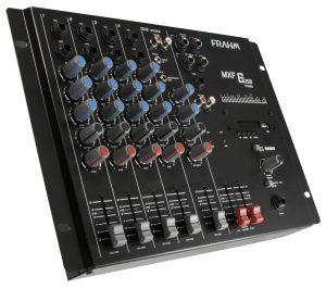 Mesa de Som Mixer Frahm - MXF 6 USB