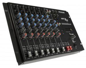 Mesa de Som Mixer Frahm - MXF 8 USB