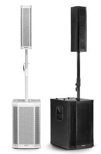 Sistema PA Ativo 500W Frahm - GRT12 APP Preto e Branco