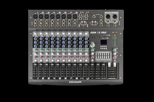 Mesa de Som Mixer Frahm - GRM 12 PRO