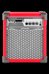 Caixa Amplificada Multiuso Frahm – LC 250 APP Vermelha