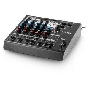 Mesa de Som Mixer Frahm - MXF 6 BT