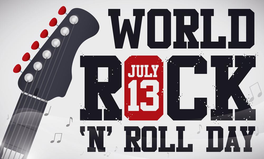 Ideias de música para celebrar o Dia Mundial do Rock!