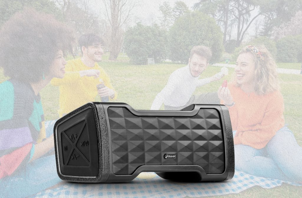 Precisando de uma caixa de música portátil? Conheça a nova Strong One, da Frahm!
